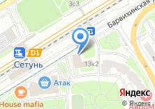 Компания «РОСЕВРОПРОДУКТ» на карте