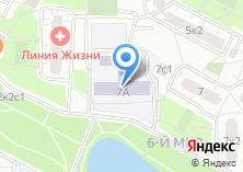 Компания «Средняя общеобразовательная школа №1007» на карте