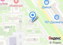 Компания «Строящийся жилой дом по ул. Мельникова проспект (г. Химки)» на карте