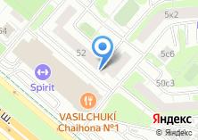 Компания «Лена» на карте