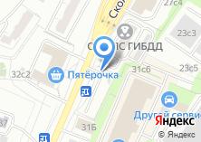 Компания «Автостоянка на Сколковском шоссе» на карте