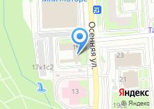Компания «Отделение по делам несовершеннолетних Отдела МВД России по району Крылатское» на карте