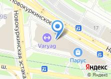 Компания «Торговый центр - парус» на карте