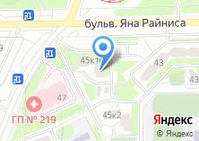 Компания «Время» на карте