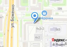 Компания «Муниципальный Фонд поддержки малого предпринимательства Западного административного округа г. Москвы» на карте
