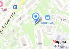 Компания «Мастерская по ремонту обуви и изготовлению ключей на Родионова» на карте