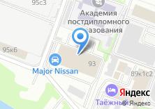 Компания «Major Nissan» на карте