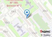 Компания «Строгино-1» на карте