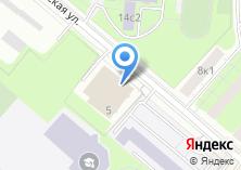 Компания «Московский гуманитарно-экономический институт» на карте