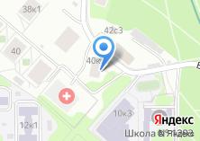 Компания «Профсоюз муниципальных работников Западного административного округа г. Москвы» на карте