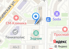 Компания «РусСертификат» на карте