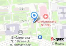 Компания «Анфея» на карте