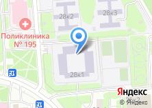 Компания «Гимназия №1593» на карте