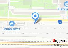 Компания «Аква-Вест» на карте
