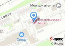 Компания «Востряковские бани» на карте