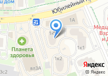 Компания «Мебель-Химки» на карте