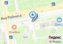 Компания «Магазин овощей и фрукирв на Туристской» на карте