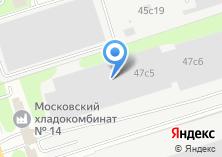 Компания «Веком» на карте