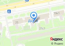 Компания «Тушинский строитель» на карте