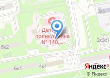 Компания «Городская поликлиника №126» на карте