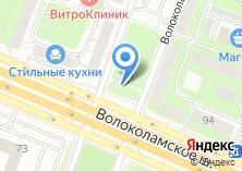 Компания «Магазин сантехники на Волоколамском шоссе» на карте