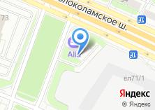 Компания «Шиномонтажная мастерская на Волоколамском шоссе» на карте