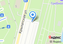Компания «Автостоянка на Крылатской» на карте