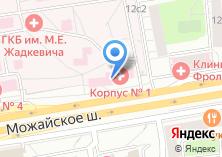 Компания «Платная скорая медицинская помощь» на карте