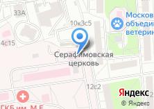 Компания «Городская клиническая больница №71» на карте