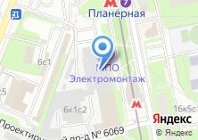 Компания «МПО Электромонтаж» на карте