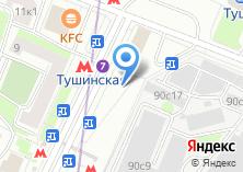 Компания «Tele2» на карте