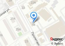 Компания «Автоколонна №1786» на карте