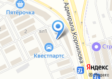 Компания «Авто-мастер» на карте