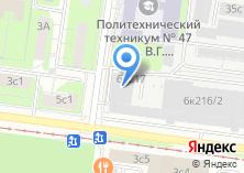 Компания «БеларусьОкна» на карте