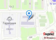 Компания «Средняя общеобразовательная школа №888» на карте