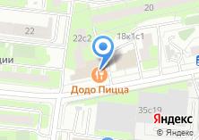 Компания «Канси» на карте