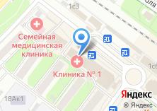 Компания «Диваны и Кресла» на карте
