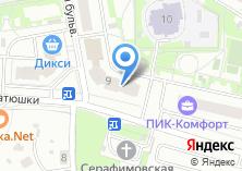 Компания «Ключ» на карте