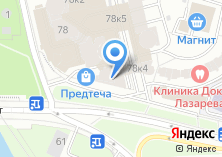 Компания «Мосторг» на карте