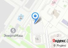 Компания «Строящееся административное здание по ул. Бурденко (г. Химки)» на карте