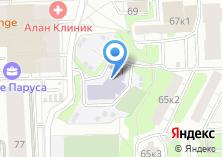 Компания «Средняя общеобразовательная школа №1005 Алые паруса» на карте