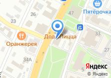 Компания «ДверьЭкспо» на карте