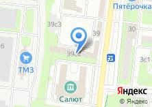 Компания «Салют-ТМ» на карте