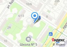 Компания «ЛайнОкна» на карте