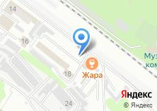 Компания «МосМирМебели» на карте
