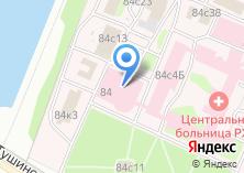Компания «Центральная клиническая больница №1» на карте