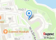 Компания «Мосинтерстрой» на карте