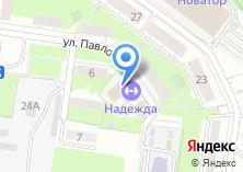 Компания «Надежда» на карте