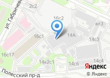 Компания «Автомойка на Полесском проезде» на карте