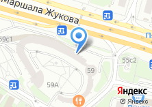 Компания «АСНА» на карте
